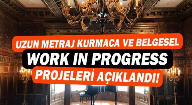 Forum'un Uzun Metraj Kurmaca ve Belgesel Work in Progress projeleri belli oldu.