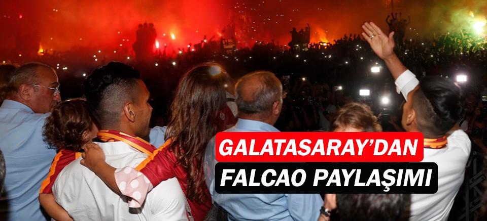 Galatasaray'dan Falcao paylaşımı...