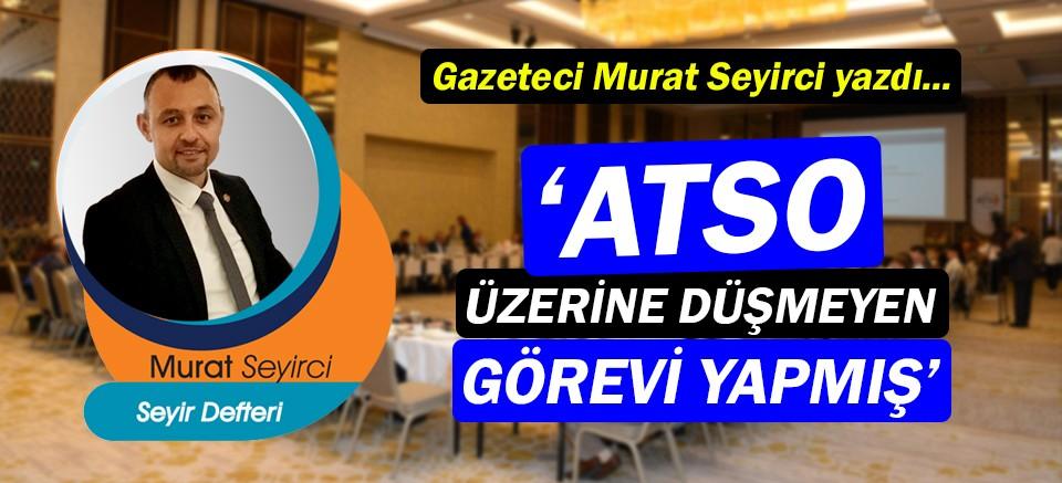 Gazeteci Murat Seyirci, Antalya 4.0 raporunu yazdı!