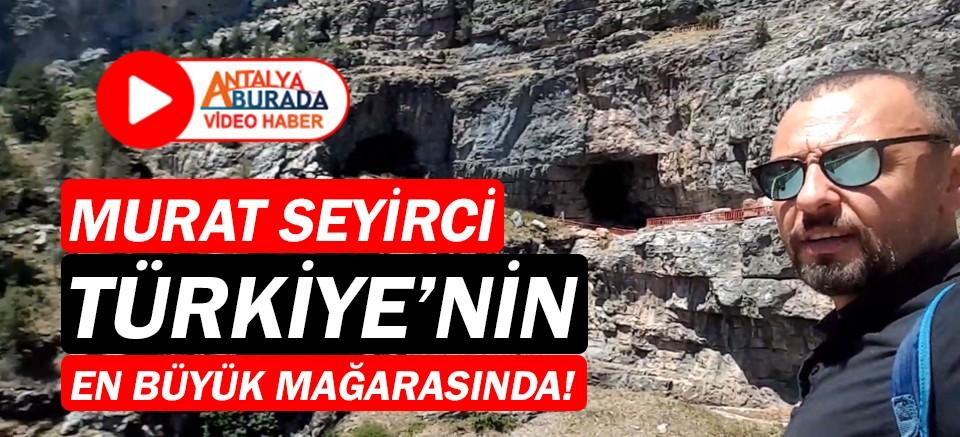 Gazeteci Murat Seyirci'nin Seyir Defteri'nde: Tınaztepe Mağarası