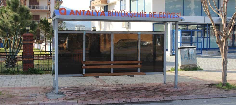 Gazipaşa'da eski duraklar yenileniyor