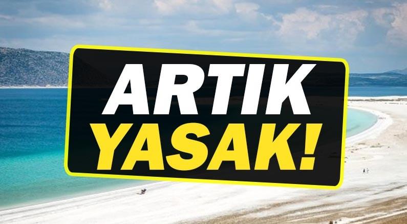 Gelen yasakla artık Salda Gölü'nde bunu yapamayacaksınız!