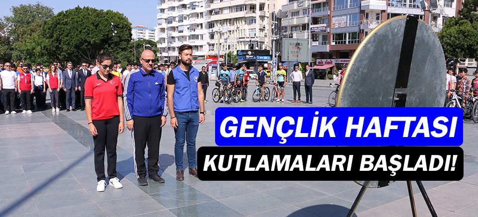 Gençlik Haftası Kutlamaları Antalya'da başladı!