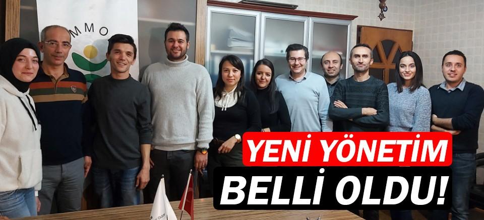 Gıda Mühendisleri Odası Antalya Şubesi'nde yeni yönetim...