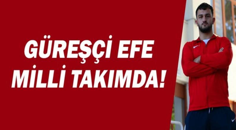 Güreşçi Efe Milli Takımda!