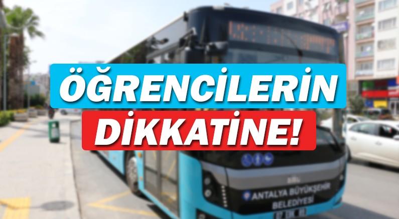 Hafta sonu toplu taşıma ücretsiz!