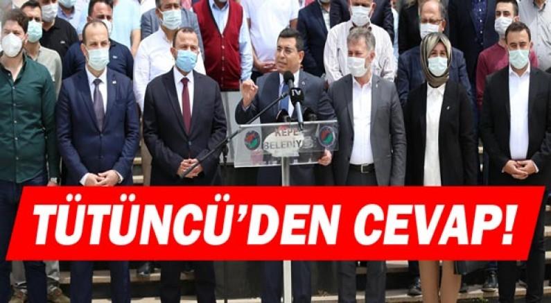 Hakan Tütüncü'den CHP'li Engin Özkoç'a cevap!