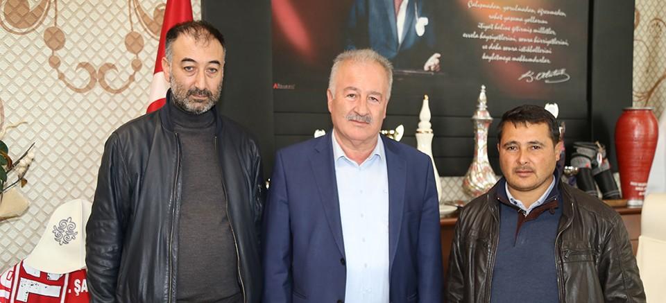 Halil Şahin'e Kızılay'dan teşekkür...