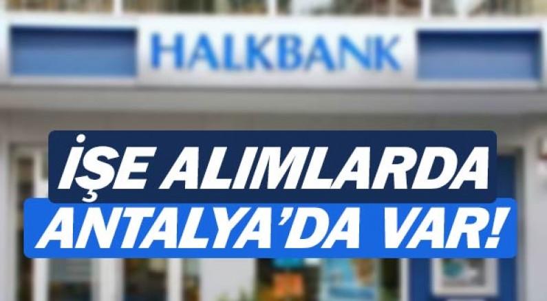 Halk Bankası personel alımı sınav yerleri nereler?