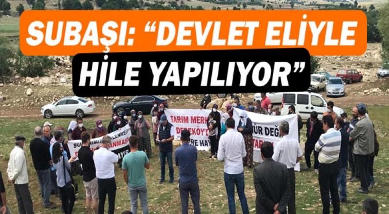 Hasan Subaşı: Devlet eliyle hile yapılıyor!