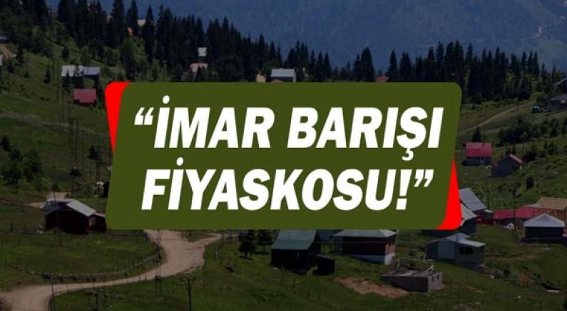Hasan Subaşı: İmar Barışı fiyaskosu!