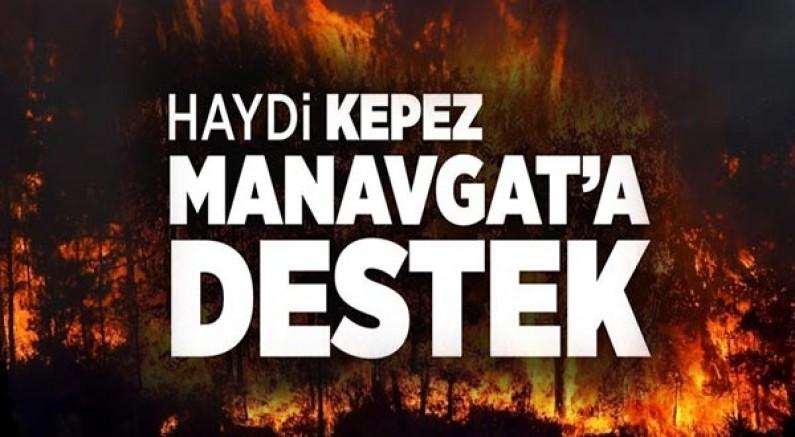 Haydi Antalya! Manavgat'a destek