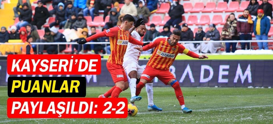 Hes Kablo Kayserispor: 2 Fraport TAV Antalyaspor: 2