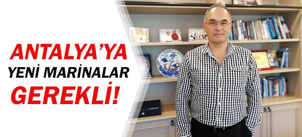 Hüsnü Çöllü'den Antalya için marina açıklaması!