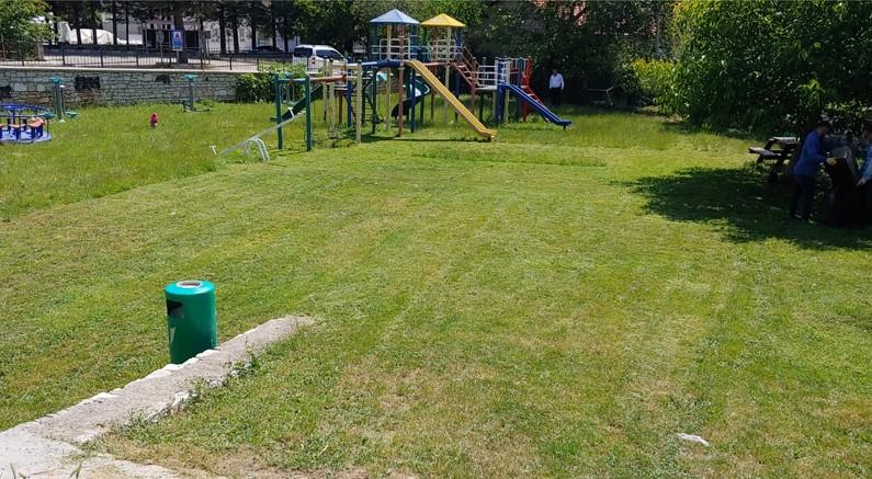 İbradı'da parklar yenileniyor