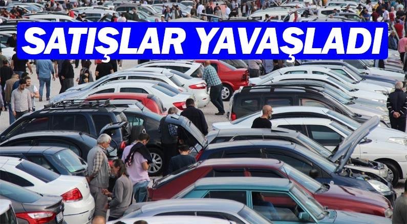 İkinci el otomobil satışlarında ciddi yavaşlama başladı...