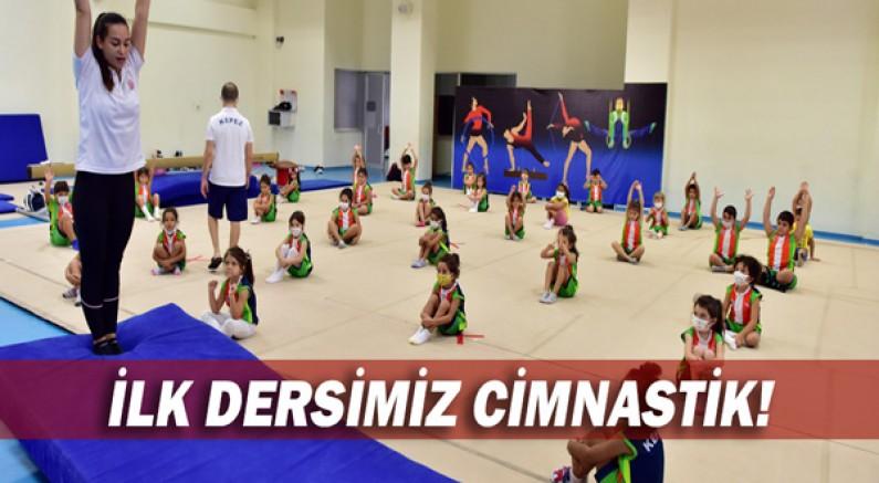 İlk dersimiz cimnastik!