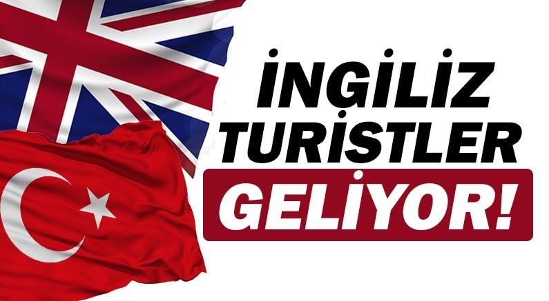 İngiliz turistler ne zaman geliyor?