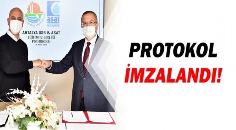 İşbirliği protokolü imzalandı!