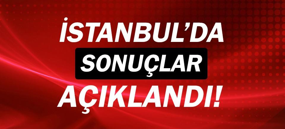 İstanbul'da seçim sonuçları belli oldu!