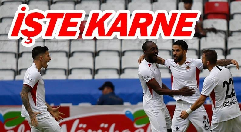 İşte Antalyaspor'un maç karnesi...