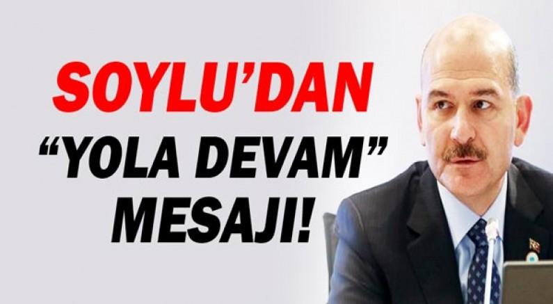 İstifası kabul edilmeyen Süleyman Soylu'dan ilk açıklama!