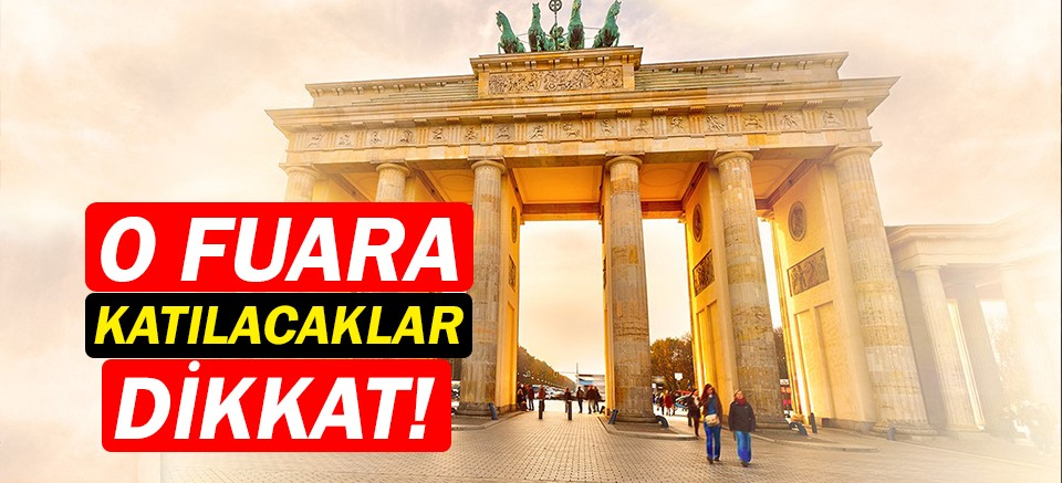 ITB Berlin Turizm Fuarı'na Antalya'dan direkt sefer!