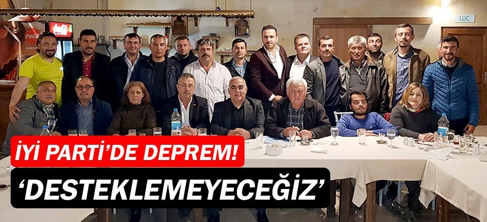 İYİ Parti Aksu'da deprem şoku!