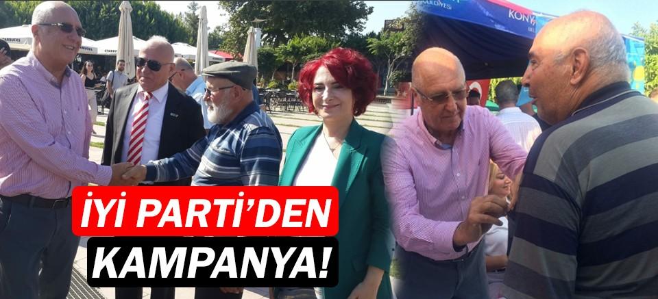 İYİ Parti'den Antalya'da kampanya!
