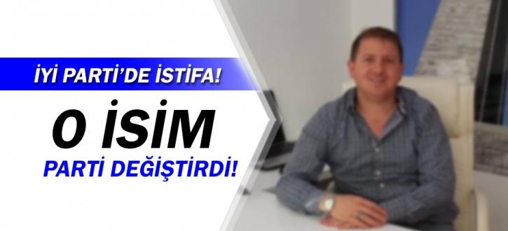 İYİ Parti'li Başkan Yardımcısı Özgür Avcı istifa etti!