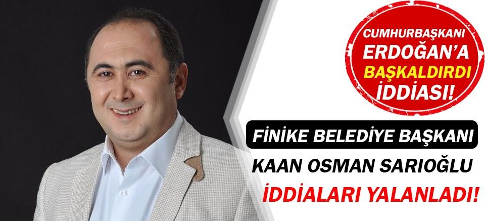 Kaan Osman Sarıoğlu'dan Erdoğan'a başkaldırı iddialarına yanıt!