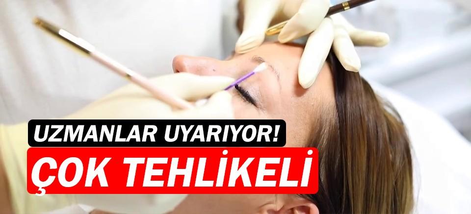 Kalıcı makyaj, tümörün fark edilmesini engelliyor!