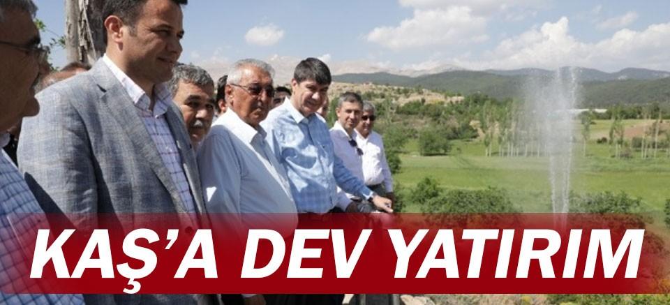 Kaş'a 4 yılda 363 milyon TL'lik yatırım...