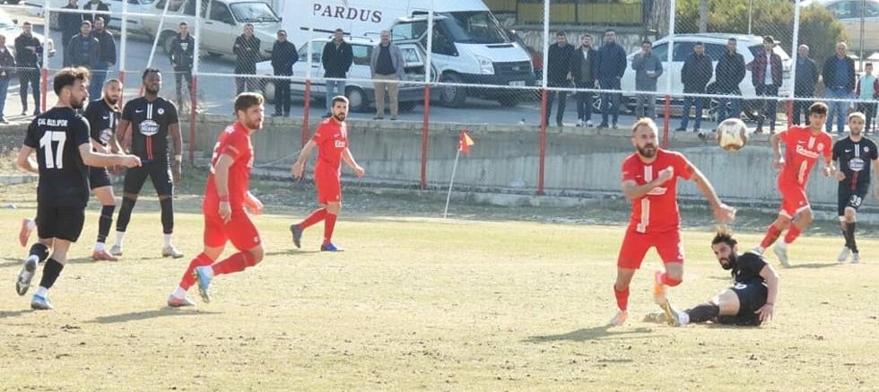Kepez Belediyespor 1-Çal Belediyespor 1