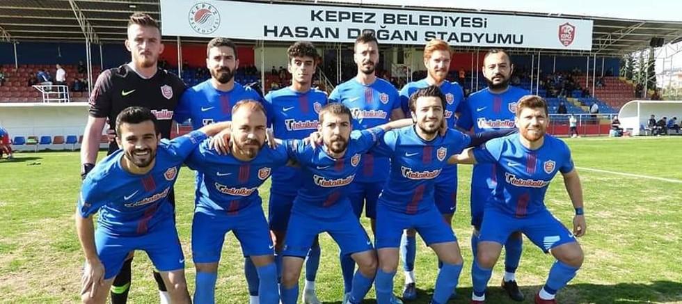 Kepez Belediyespor Akşehirspor'u ağırladı