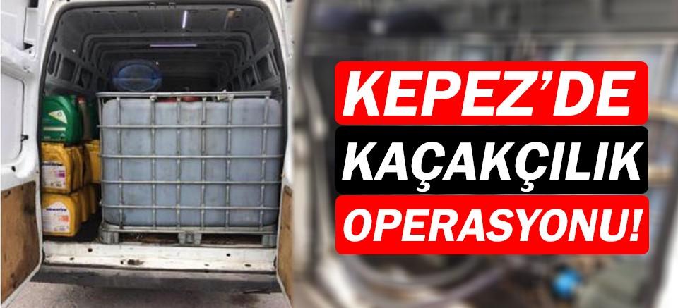 Kepez'de akaryakıt kaçakçılığı!