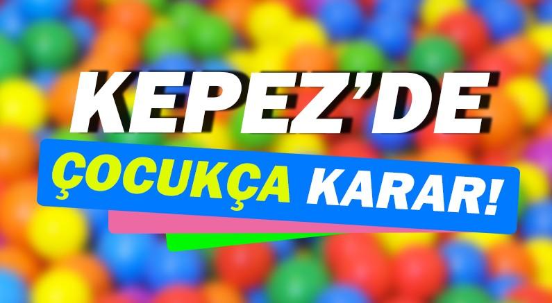 Kepez'de çocukların ve gençlerin yüzünü güldürecek karar!
