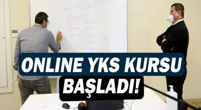 Kepez'den online YKS kursu