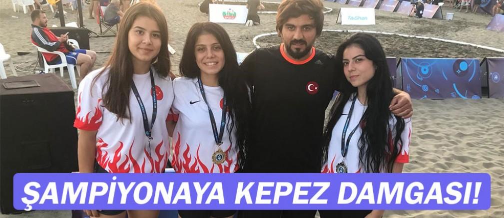 Kepez, Dünya Şampiyonu oldu...