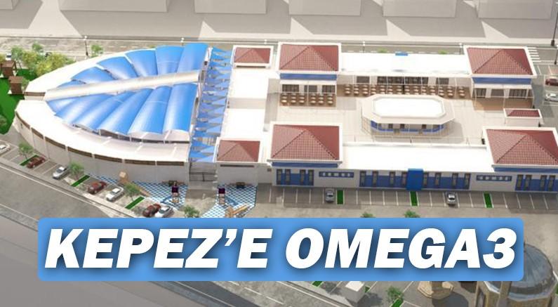 Kepez'e omega3 balık pazarı. İnşaatta son durum.