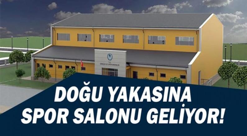 Kepez'in doğu yakasına spor salonu yapılıyor.