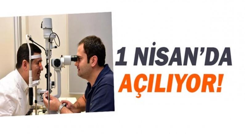 Kepez'in göz polikliniği 1 Nisan'da açılıyor