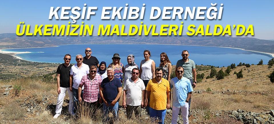 Keşif Ekibi Derneği Türkiye'nin Maldivleri Salda Gölü'nde