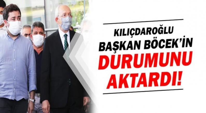 """Kılıçdaroğlu: """"Başkan Böcek'in durumu iyiye gidiyor"""""""