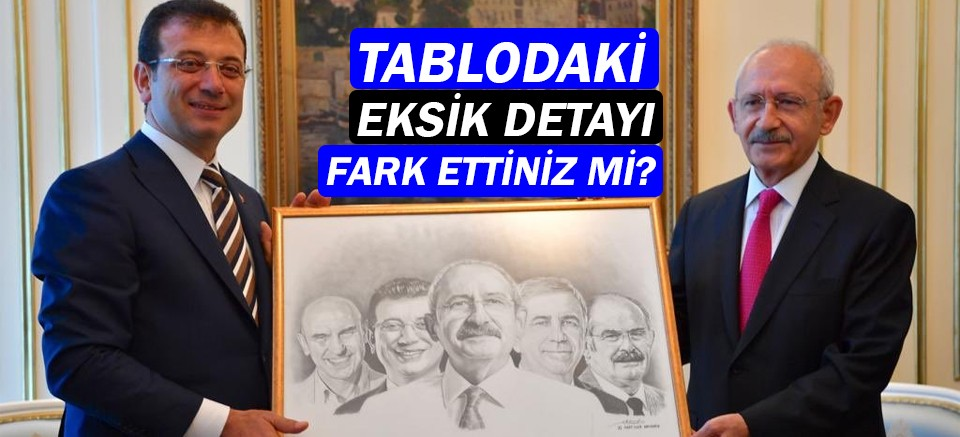 Kılıçdaroğlu'nun hediye ettiği tabloda Antalya yok!