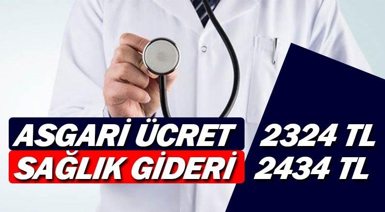 Kişi başı sağlık harcaması asgari ücreti geçti, 2 434 TL'ye yükseldi.