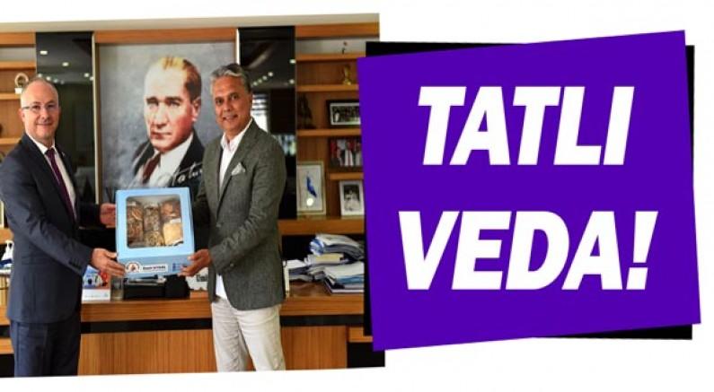 KKTC Antalya Başkonsolosu Mustafa Kemal Beyazbayram'a tatlı veda