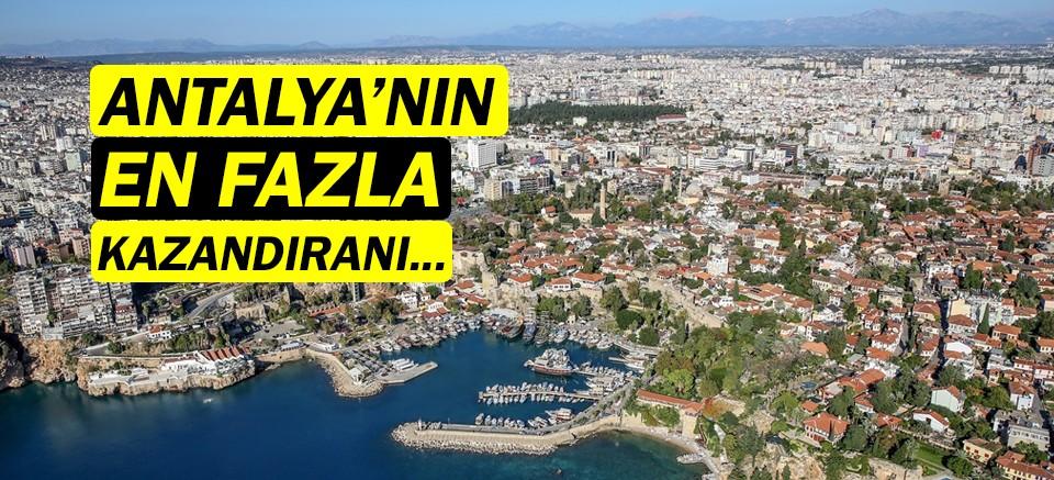 Konut piyasasında Antalya'da en çok Serik kazandırdı!