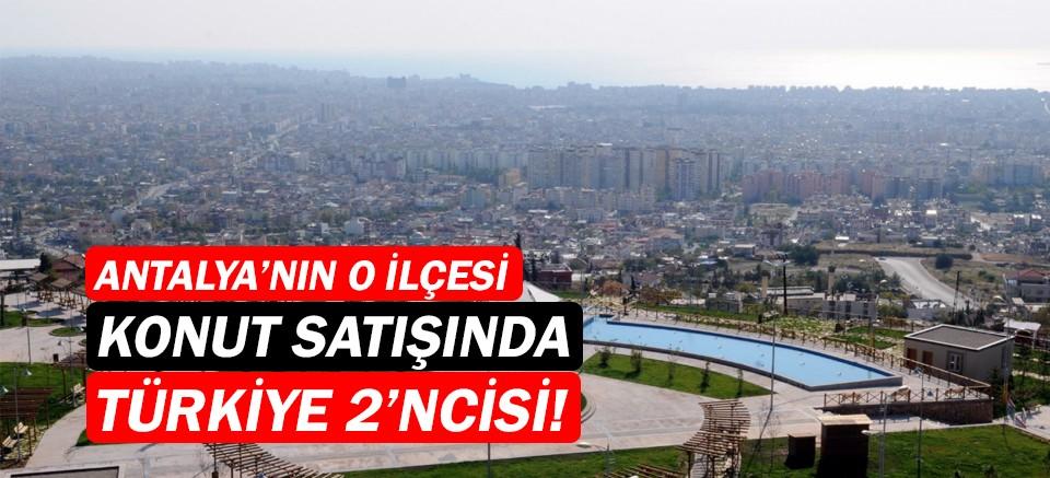 Konut satışında Türkiye 2'ncisi Antalya'dan!