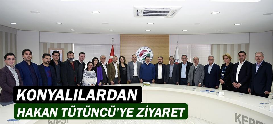 Konyalılar'dan Hakan Tütüncü'ye ziyaret